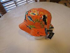 Polo Ralph Lauren bucket hat cap fishing fish RARE reversible L/XL Men's blue