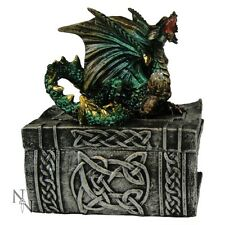 NEMESIS NOW TRINKET BOX *KNOWLEDGE KEEPER* DRAGON NEW & BOXED