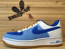 2007 New DS Nike Air Force 1 One Premium sz 9 Philly Down North Blue AF1