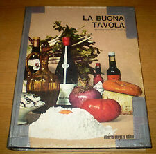 LA BUONA TAVOLA Enciclopedia della Cucina Ricettario Arte Chef PERUZZO Editore