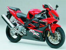 Injection Red Black Plastic Kit Fairing Fit for Honda 2002 2003 CBR954RR ABS t11