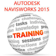 Autodesk Navisworks 2015-formazione VIDEO TUTORIAL DVD