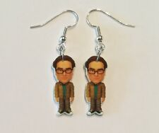 Leonard Earrings Big Bang Theory Charms