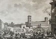 Révolte de Pavie Carle Vernet Napoléon Révolution Coiny 1850