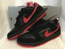 New 2003 Nike Dunk Low Pro SB size 8.5 Black True Red Vamps Vampire 304292-061