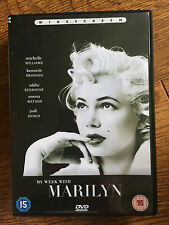 Michelle Eddie Kenneth Branagh MY WEEK WITH MARILYN ~ 2011 Monroe Drama UK DVD
