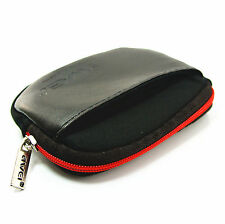 AWEI New Leather Case Storage Pouch Bag For Headphone Earphone MP3 MP4 Player