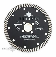 5 Inch  Diamond Turbo Saw Blade SUPER PERFORMANCE CUT Granite Stone Concrete