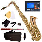 NEW ROSE BRASS BODY & Gold LACQUER TENOR SAXOPHONE SAX