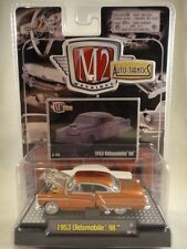 M2 Machines Auto-Thentics 1953 Oldsmobile 98 Brown NEW 1:64 scale