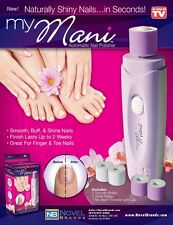 My Mani battery operated  Automatic Nail Polisher - Smooth, Buff, & Shine Nails