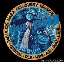 NASA DISCOVERY MISSION - VESTA - CERES - DAWN -JPL -ORBITAL - UCLA - SPACE PATCH