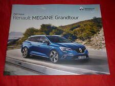 RENAULT Megane Grandtour Life Experience Intens Bose Edition GT Line Prospekt