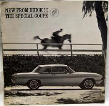 BUICK SPECIAL  AUTOMOBILE ADVERTISING SALES BROCHURE 1961 VINTAGE