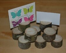 Wooden Holders,Wedding Table /Place Name/Photo Holder/Shops/Stalls Etc  X 20