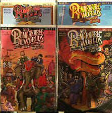 The Remarkable Worlds of Professor Phineas B Fuddle #1-4 Set VF+/NM- 1st Print