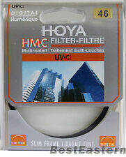 Genuine Hoya 46mm HMC UV(C) Multi-Coated Slim Filter
