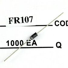 50pcs Fast Recovery Diodes FR107 1A 1000V NEW