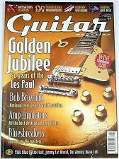 GUITAR Magazine May 2002 50 years Gibson Les Paul Golden Jubilee Vintage Martin
