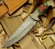 Paul Walker 1-OF-A-KIND RARE CUSTOM DAMASCUS HUNTING KNIFE | SKINNER KNIFE 033