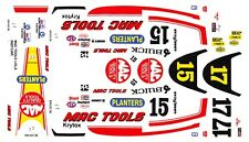 #15 or #17 Mac Tools 1989 Buick Indy Car 1/64th HO Scale Slot Car Decals