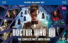 Doctor Who: The Complete Matt Smith Years (Blu-ray Disc, 2014, 16-Disc Set)