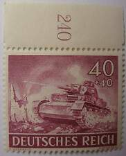 NAZI     3rd Reich  ARMED FORCES   TANK  IN ACTION STAMP,,,.,