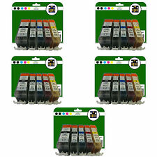 Any 25 Ink Cartridges for Canon iP4850 iP4950 iX6250 iX6550 non-OEM 525-526