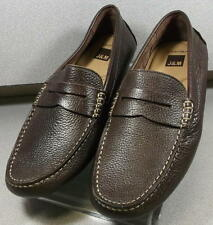 251610 MS38 Men's Shoes Size 9 M Brown Leather Slip On Johnston & Murphy