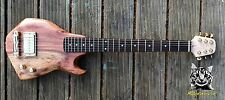 Reloved Guitars 'Oakcaster #5' unique custom electric travel guitar full scale