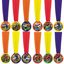 12 Blaze and the Monster Machines Birthday Party Favor Treat Mini Award Medals