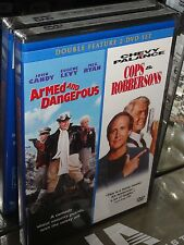 Armed and Dangerous / Cops and Robbersons (DVD) John Candy, Chevy Chase, NEW!