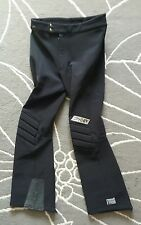 SPYDER VINTAGE ENTRANT MENS SNOW SKI PANTS Sz. 32R BLACK SOFT SHELL.         /EA