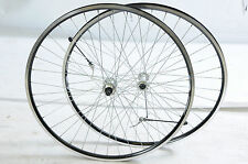 700c WHEELS 5, 6 7 SPEED DOUBLE WALL BLACK RIM QUICK RELEASE HUBS 130mm O.L.D