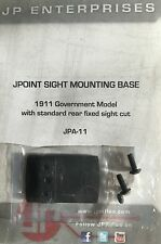 SHIELD MINI SIGHT SMS JPOINT RED DOT 1911 PISTOL REAR SIGHT DOVETAIL MOUNT NEW