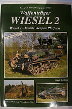 German Waffentrager Wiesel 2 Mobile Weapon Platform Tankograd Reference Book