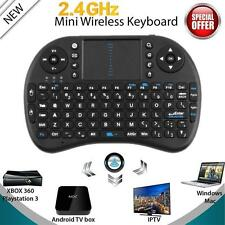 Mini i8 Black Wireless Keyboard 2.4G with Touchpad for PC Pad Android TV Box PS3