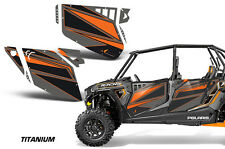 AMR Racing Graphic Wrap Kit Polaris RZR 1000 UTV Doors RZR1000 Decal 4 Door TITA