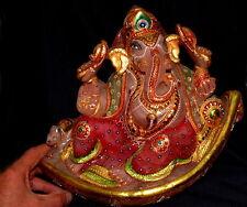 XXL ! Magique Ganesh Quartz rose doré 14100 g 335x285x190mm, Guérison de pierres
