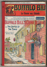 RELIURE/ALBUM BUFFALO BILL LE HEROS DU FAR WEST avec n°76-77-78-79-80 ¤