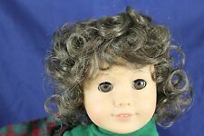 """""""SWEETIE"""" WIG SIZE 10-11,Lt CHESNUT BRN MODELED SNUGGLY ON AN AMERICAN GIRL DOLL"""