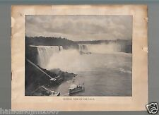Niagra Falls Vintage Photo Album book 16 pages 32 photos of the Falls
