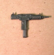 Snake Eyes Uzi Machine Gun LIGHT GRAY ACCESORY PACK~ Gi Joe Parts~ Vintage 1983