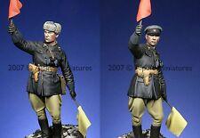 ALPINE 16002 rouge soviétique officier de l'armée Seconde guerre mondiale 1 / 16e modèle kit non peinte