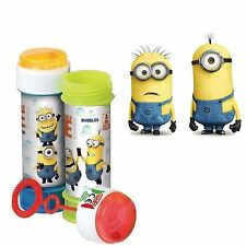 Boys Girls 6 Minions Bubble Tubs Xmas Kids Stocking Party Bag Fillers