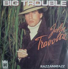 "7"" 1976 FRENCH PRESS VG++ ! JOHN TRAVOLTA : Big Trouble"