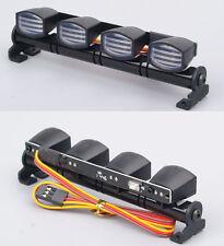 5 Modes Multi-Function LED Spotlight Light Bar For 1/10 1/8 RC Model Car AX-505W