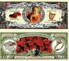 Valentine's Day -Be My Valentine Fourteen Dollar Novelty Money