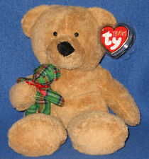 TY BEARY MERRY the BEAR PLUFFIES - MINT with MINT TAG
