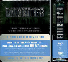 BAND OF BROTHERS - COFANETTO 6 Blu-Ray, EDIZIONE ORIGINALE ITALIANA, STEEL BOX